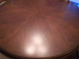Beautiful!  Ethan Allen Table with Iron Base