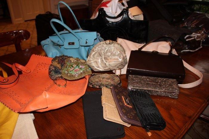 Assorted Handbags and Purses