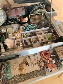 Lots of Costume Jewelry