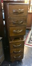2 Pieces of vintage drawers