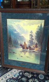 FRAMED ART:  G. Harvey, Parrish, Gunn, Deseau, Scott + MORE TO COME after Features