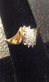 DIAMOND/STERLING vermeil ring + MORE TO COME after Features