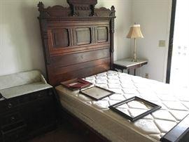 Victorian Antique bed, circa 1880