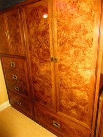 mid-century Hickory armoire
