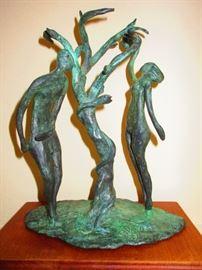 William Jauquet bronze sculpture