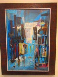 Original Oil on Canvas by  Francisco Moreno Capdevila