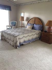 Queen Size Bedroom Set (quilt not included)