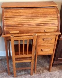 Child's size Roll top Desk