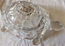 Godinger Crystal Turtle