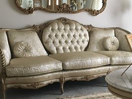 Like new (50 + years old) French Provincial Sofa