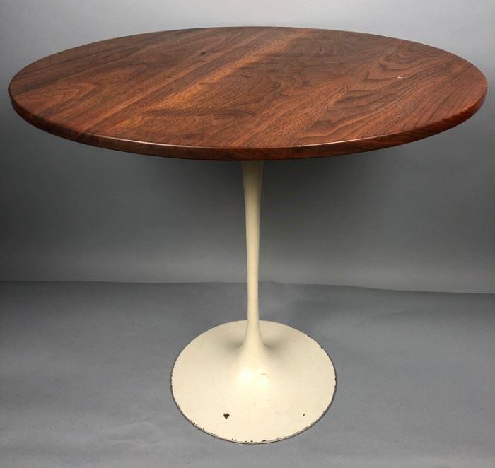 Lot 3 EERO SAARINEN for KNOLL Tulip Side End Table. Rou