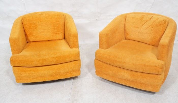 Lot 4 Pr FOUNDERS in MILO BAUGHMAN style Lounge Chairs.