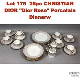 Lot 175 26pc CHRISTIAN DIOR