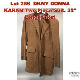 Lot 268 DKNY DONNA KARAN Two Piece Suit