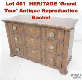 Lot 461 HERITAGE Grand Tour Antique Reproduction Bachel