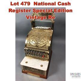 Lot 479 National Cash Register Special Edition Vintage Re