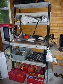 Tools, Heaters & Workbench