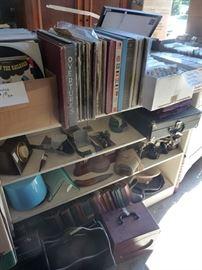 Records & Misc. Antiques