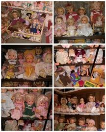 Massive Doll Collection