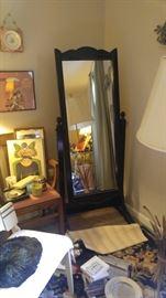 Beautiful antique dressing mirror