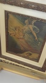 Antique lithographs amazing frames