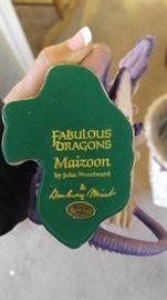 Danbury Mint fabulous dragons collection John woodward