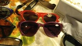 Vintage and designer sunglasses