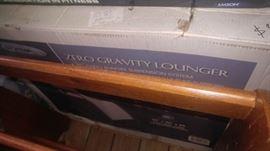 Zero gravity lounger