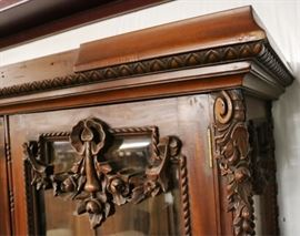 detail of carvings