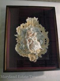 Rococo porcelain sculpture