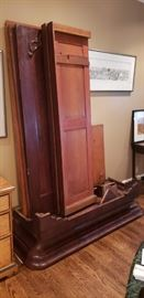 Antique Wardrobe from the Belle Meade Plantation, signed