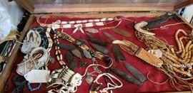 Native American Arrowheads and Accessories