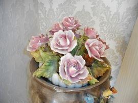 Pink Porcelain Roses