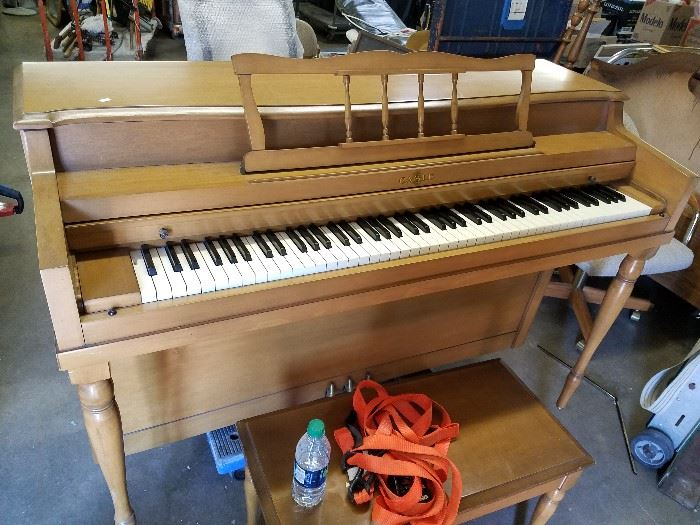 Piano (bid starts at $1)  light as far a pianos go but bring your own labor