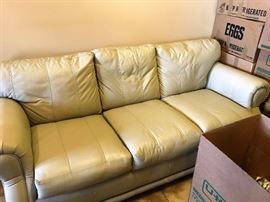 Pristine Condition Leather Couch