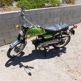 1969 Suzuki 50 motorcycle original owner