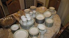 Large set of very desirable Noritake China.