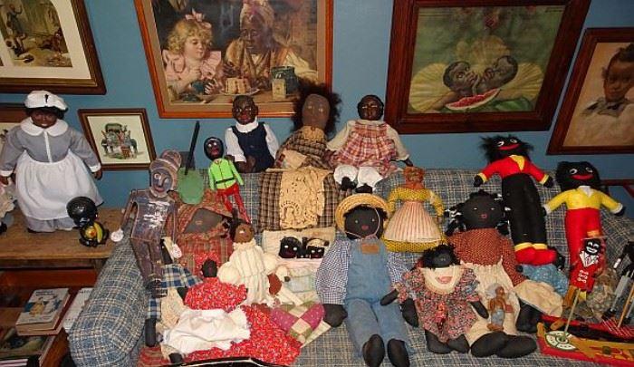 Collection of Black Americana Memorabilia