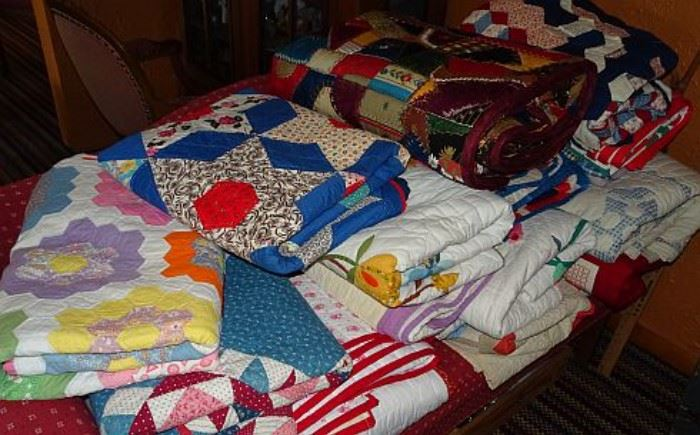 Collection of Handmade Quilts