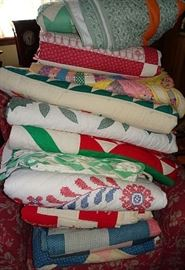 Collection of Hand Made Quilts