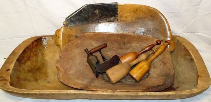 Oblong Wooden Bowls, Trench Bowls, Woodenware, Choppers