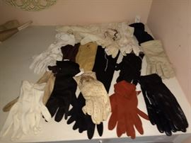 Collection of gloves