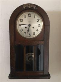Fasco wall clock oak