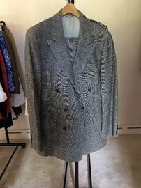 CHAPS by Ralph Lauren Scottish plaid suit MENS