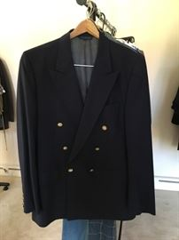 Burberrys double-breasted Mens suit