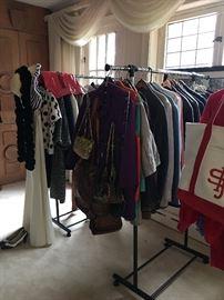 Vintage Purses, Shoulder Bags, Hats, Shoes, Shirts, Blouses, Jackets, Skirts.