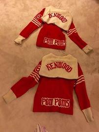 Kenwood Pom Poms Sweaters Vintage