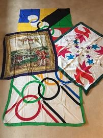 Olympic Scarves Silk.