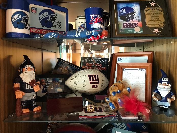 A bit of the New York Giants items