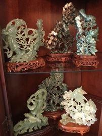 Jade Statues